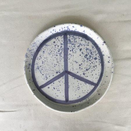 Ariel Clute Large Peace Splatter Plate