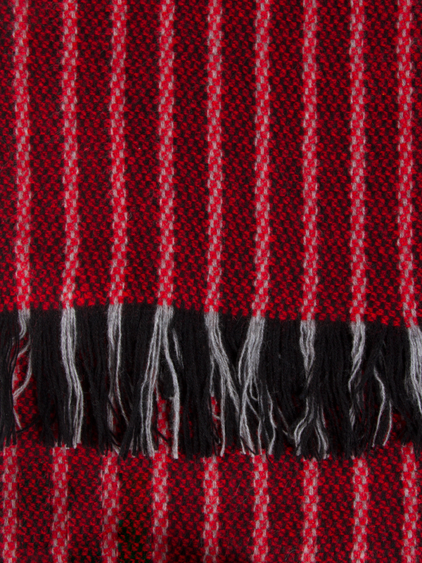 The Dunlap Weavers Calvary Cashmere Scarf