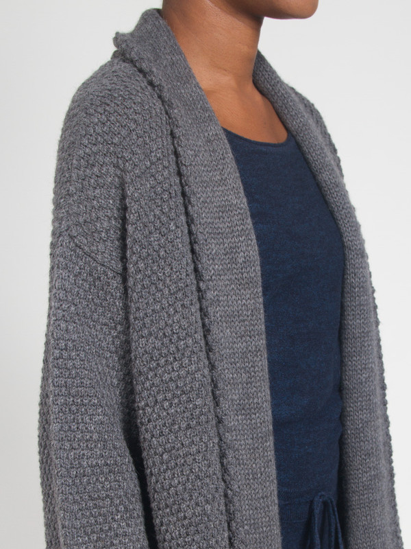 None Cardigan Sweater