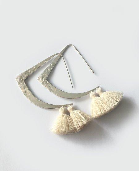 ORA-C Tessa earrings - Silver