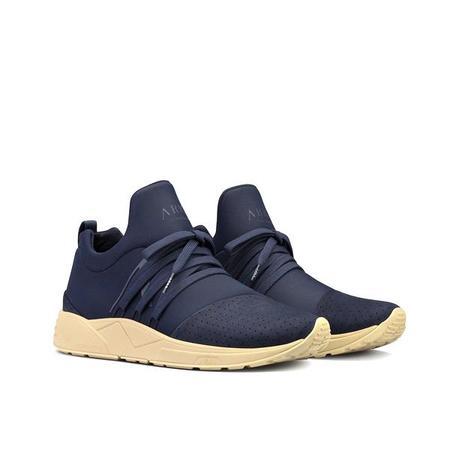 ARKK Raven Nubuck Sneaker - Navy/Tan