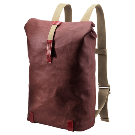 Brooks England Pickwick Roll Top Cycling Backpack 26L - Chianti