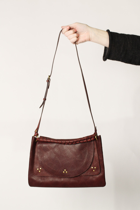 Jerome Dreyfuss Oscar Medium Bag - Burgundy