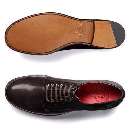 Grenson Leo Shoes - Dark Brown