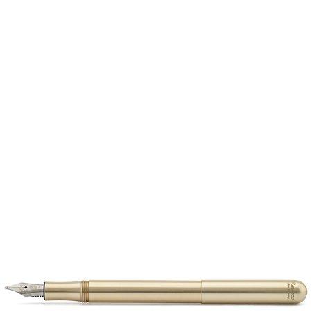 Kaweco Liliput Portable Fountain Pen - Brass