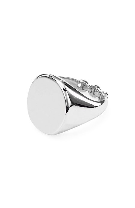Hoorsenbuhs Signet Ring - Sterling Silver
