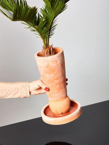 Bzippy & Co. Planter - Terracotta