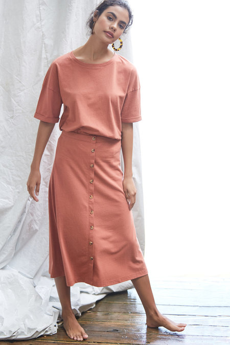 Callahan Dana Skirt - Sandstone