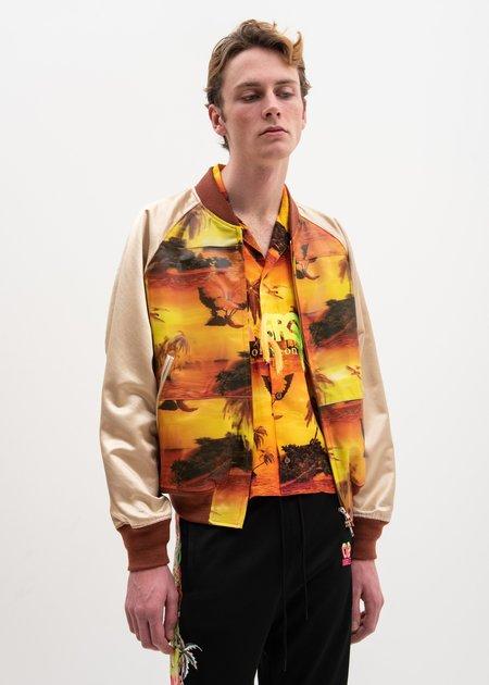 Doublet Aloha 3D Printed Souvenir Jacket - Multi