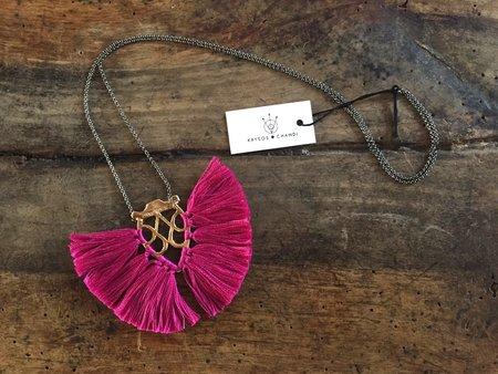 Krysos + Chandi Jya Tassel Brights Necklace