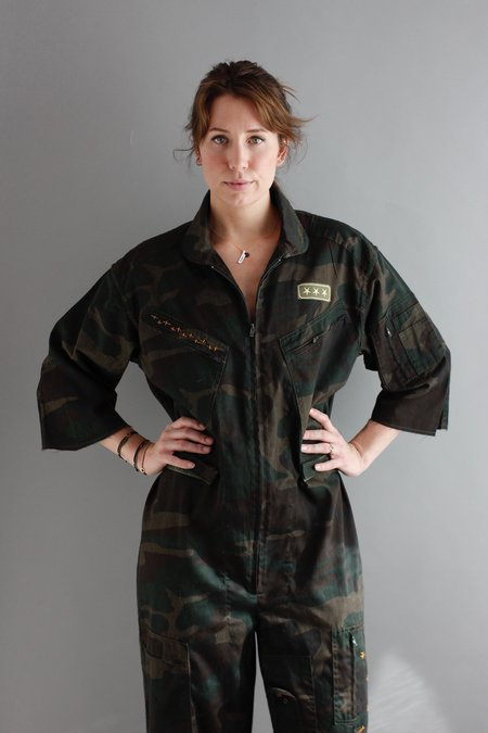 REVIVAL Camo Coveralls