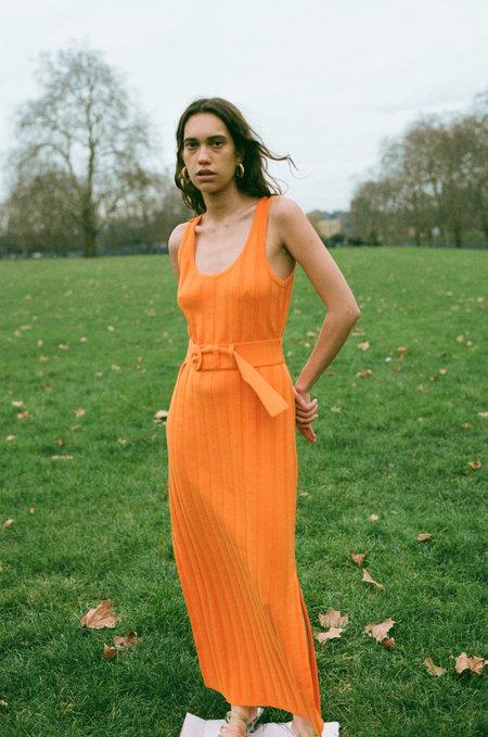 MARA HOFFMAN Harlow Dress - ORANGE
