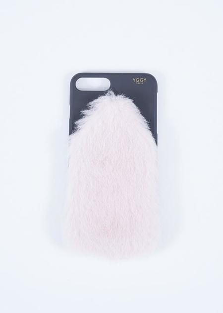 YGGY Mink iPhone 8+ Case - light pink