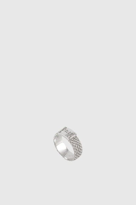 STOLEN GIRLFRIENDS CLUB Snake Band Skinny Ring - Sterling Silver