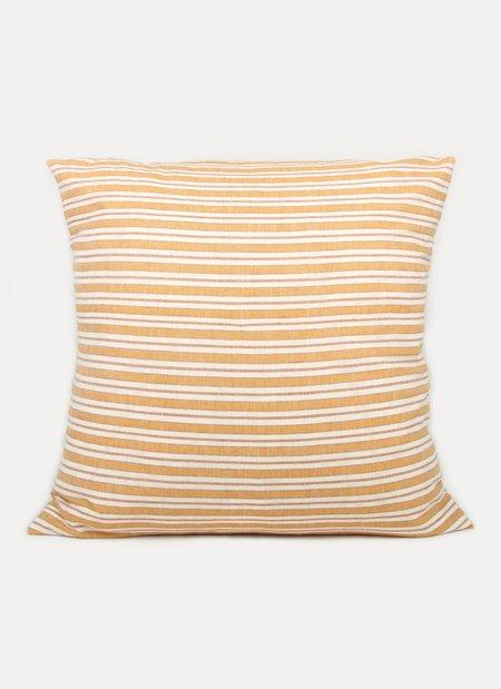 Heather Taylor Home Goldenrod Pillow - Multi Stripe