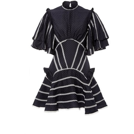 acler Perry Dress - midnight blue