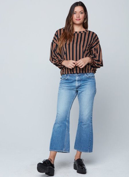 Knot Sisters Cameron Top - Black Toffee