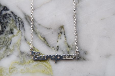 Tidy Street General Store European Necklace - Silver