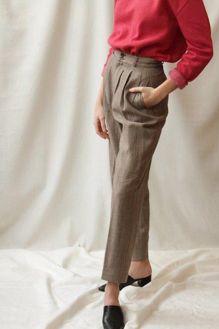Alanni Vintage Trouser - Houndstooth