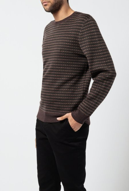 A.P.C. Dito Sweater - Marron
