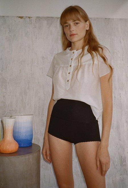 Khaite Jade Shorts - Black