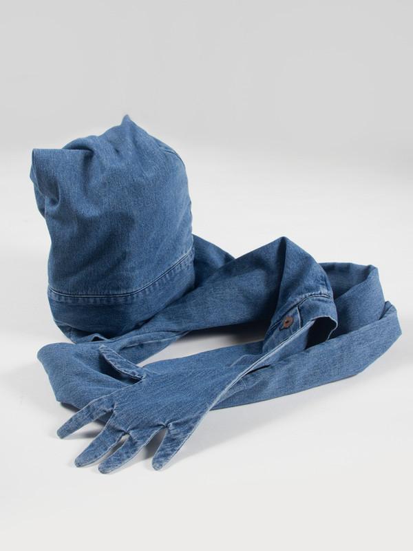 69 Sleeve Hat Denim
