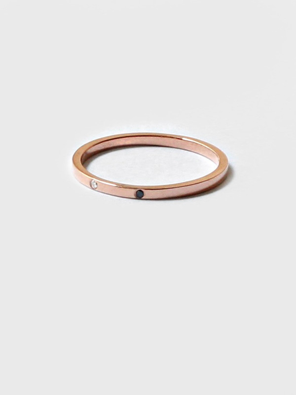 Still House Special Order – Sarala Ring Rose Gold +Engraving
