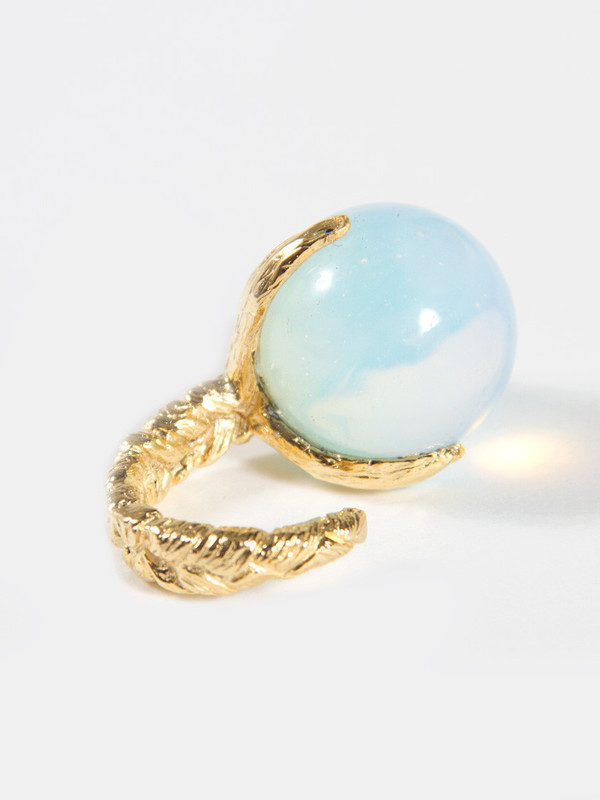 Unearthen Sphere Ring