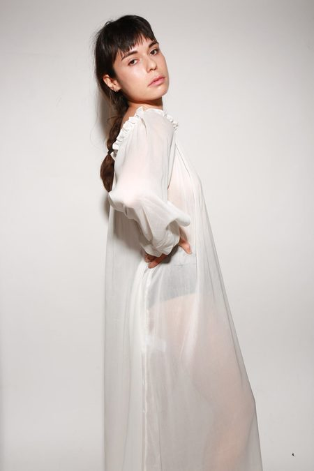 ARCH THE Dressing Gown - White