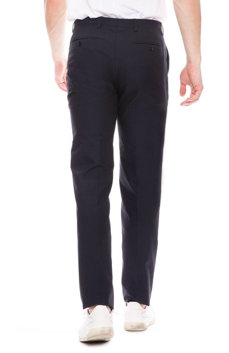 Dries Van Noten Lightweight Slim Suit Pant - Navy