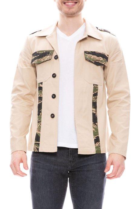 Herman Market Military Jacket - Tiger Camo