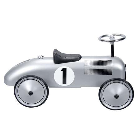Kids Baghera Speedster Race Car - Silver