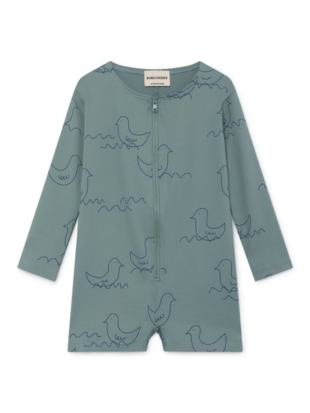 KIDS Bobo Choses Geese Swim Overall - Mint