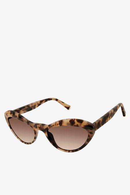 Kate Young for Tura Elene Sunglasses - Tortoise