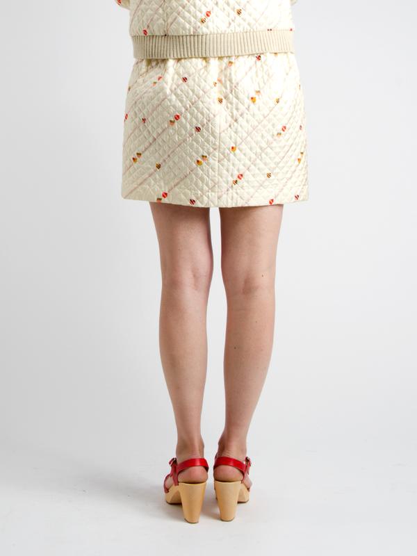 Lauren Moffatt Ulster Mini Skirt