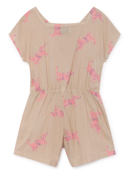 Kids Bobo Choses Dogs Sleeveless Playsuit