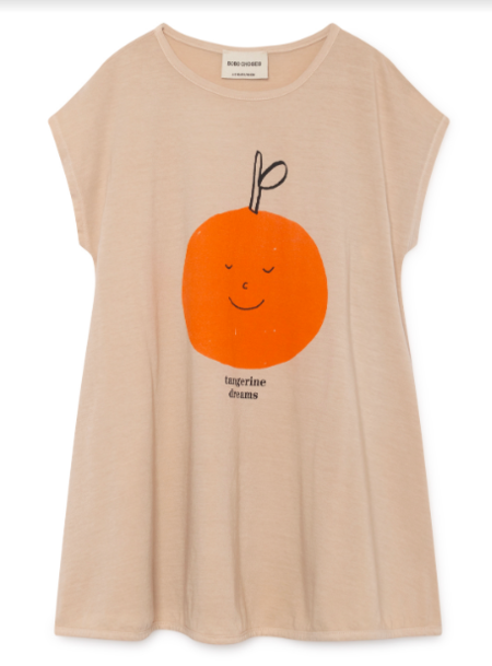 Kids Bobo Choses Tangerine Dreams Evase Dress