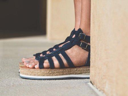 ĒSIOT Gladiator Sandals - Navy Blue