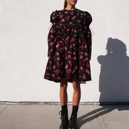 Delada Oversized Dress - Floral