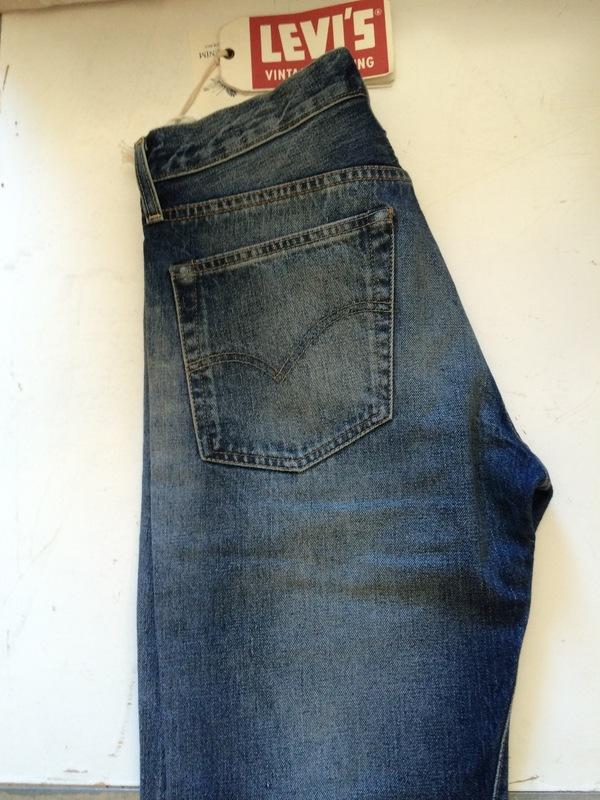 Men's Levis Vintage Clothing 501 1954 Muleskinner