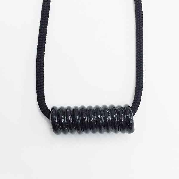Aubrey Hornor Shiny Coil Necklace