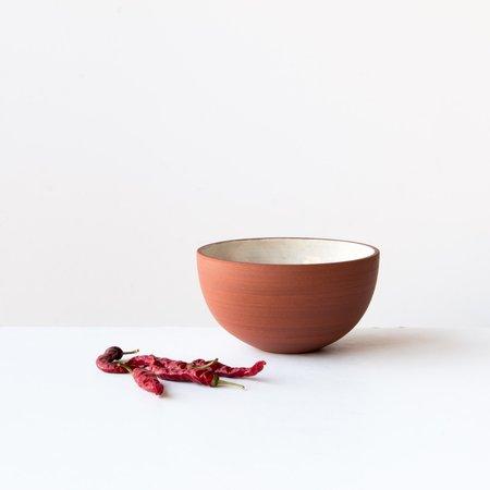 Léa & Nicolas Set of 4 Bowls - Terracota/White