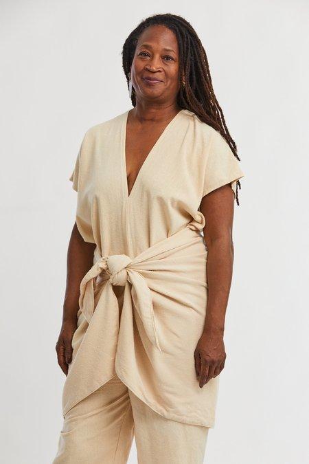 Miranda Bennett Silk Noil Sarong - Lucien