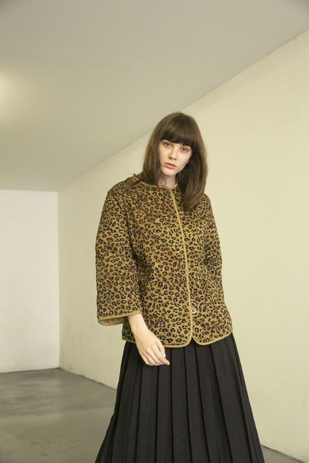 MARA HOFFMAN HAVEN JACKET - neko leopard