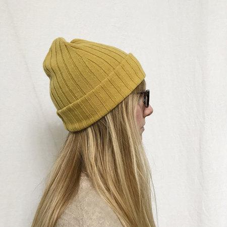 388be43f437 ... Ros Duke Ribbed Beanie Hat - Mustard