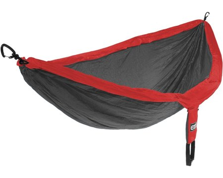 ENO DoubleNest Hammock - Red/Charcoal