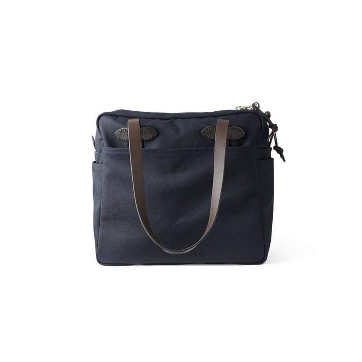 af06999e6f3 Filson Rugged Twill Tote Bag with Zipper - Navy on Garmentory