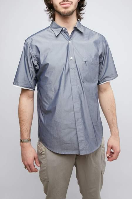 Nanamica Wind H/S Shirt - Navy