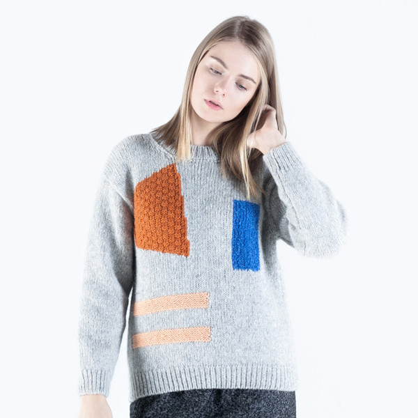 Nanushka Rama Geometric Sweater