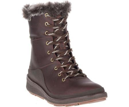 Merrell Tremblant Ezra Lace Waterproof Ice+ - Espresso